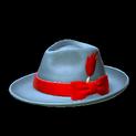 Homburg topper icon crimson