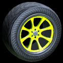 Octavian wheel icon lime
