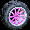 Almas wheel icon pink