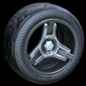 Invader wheel icon grey