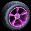 Stern wheel icon pink