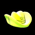 Foam hat topper icon saffron
