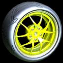 Nipper wheel icon saffron