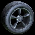 Stern wheel icon grey