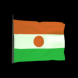 Republic of Niger antenna icon
