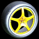 Yuzo wheel icon orange