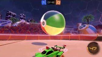 BEACH BALL GAMEPLAY - Rocket League (PC)