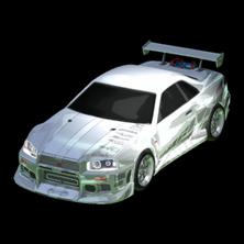 Fast & Furious Nissan Skyline body icon