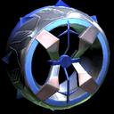Blender wheel icon cobalt