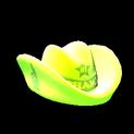 Foam hat topper icon lime