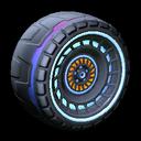 Spiralis wheel icon cobalt
