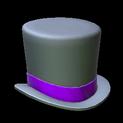 Top hat topper icon purple