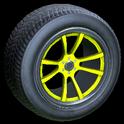 OEM wheel icon saffron