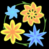 Springtime flowers boost icon