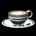 Latte topper icon black