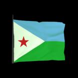 Djibouti antenna icon