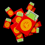Red Envelopes rocket boost icon