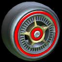 SLK wheel icon crimson