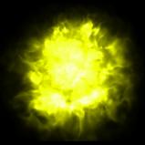 Flamethrower Yellow rocket boost icon