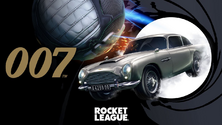 007's Aston Martin promo art