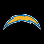 Los Angeles Chargers decal icon