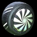 Peppermint wheel icon black