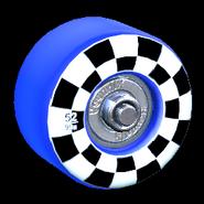 Sk8ter wheel icon cobalt