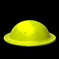 Brodie helmet topper icon saffron