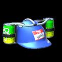 Drink helmet topper icon cobalt