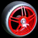Gaiden wheel icon crimson