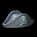 Pirates hat topper icon grey