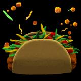 Taco rocket boost icon