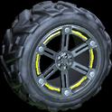 Trahere wheel icon saffron