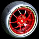 Nipper wheel icon crimson