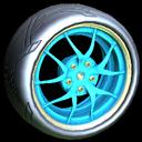 Nipper wheel icon sky blue