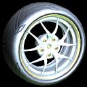 Nipper wheel icon titanium white