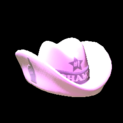 Foam hat topper icon pink