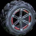 Trahere wheel icon crimson