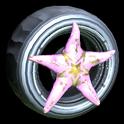 Asterias wheel icon pink