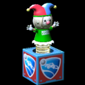 Jack-in-the-Box topper icon forest green