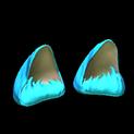 Wildcat ears topper icon sky blue