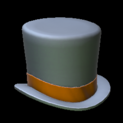 Top hat topper icon burnt sienna