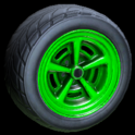 Veloce wheel icon forest green