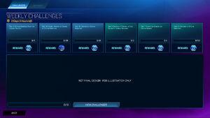 Challenge Weekly Screen
