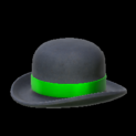 Bowler topper icon forest green