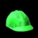 Hard hat topper icon forest green