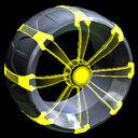 Picket Holographic wheel icon saffron