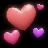 Hearts rocket boost icon