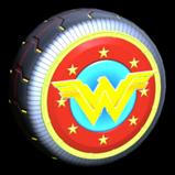 Wonder Woman wheel icon