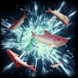 Fish rocket boost icon